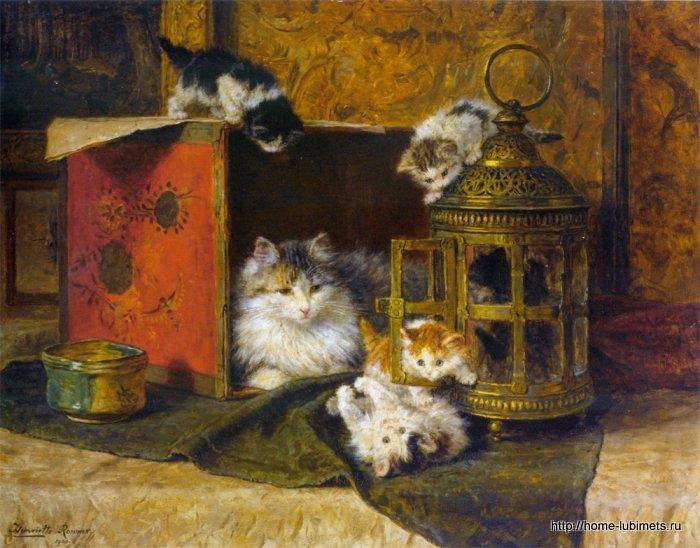 Кошки Генриетты Роннер Книп