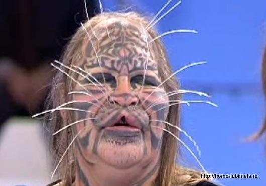 Деннис Авнер - человек-кот