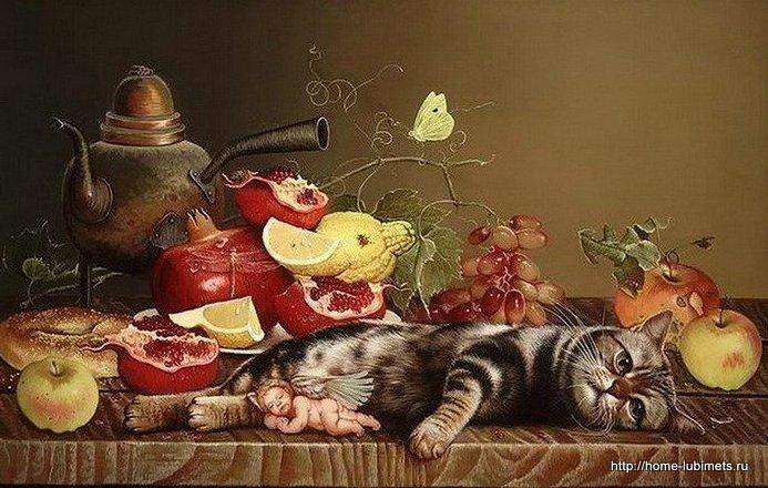Кошки Яны Мовчан