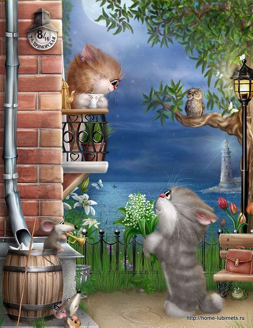Коты Алексея Долотова