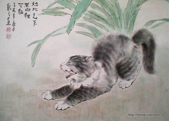 Кошки Гу Йингжи